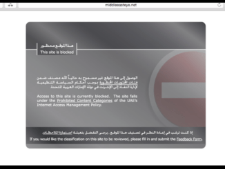 Middle East Eye is blocked in UAE - how to unblock
