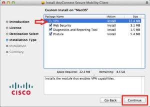 setup cisco vpn on mac